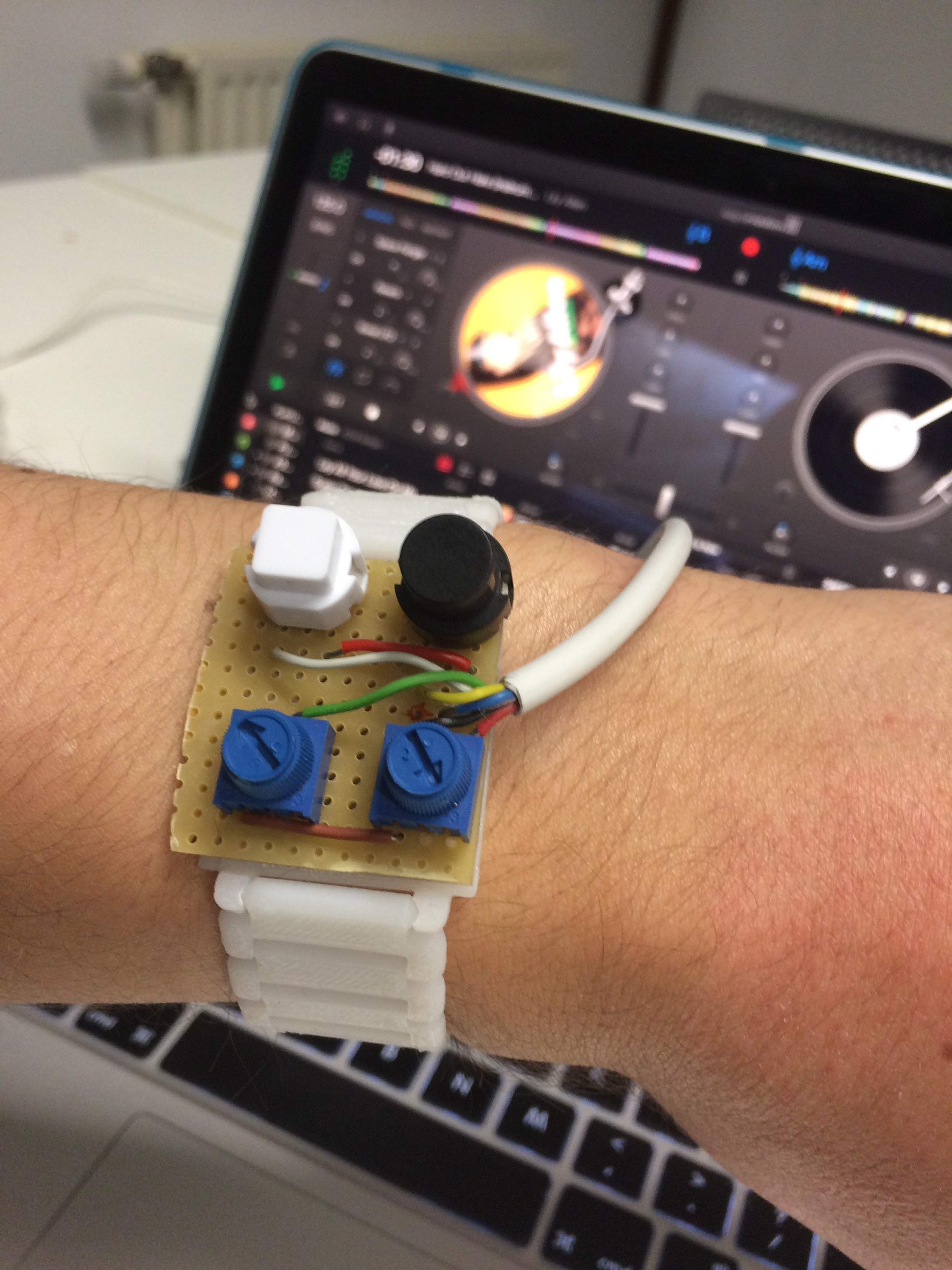 Picture of DIDI: a Wearable MIDI Interface for DJ Applications