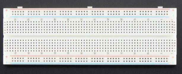 Step 2. Built 1/3 of the Circuit on a Breadboard