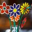 Laser Cut Acrylic & Wood Inlay Flowers Using Illustrator & Glowforge