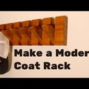 How to Make a Modern Style Coat Rack