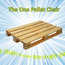 Single Pallet Chair