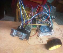 Arduino Ultrasonic Mobile Sonar
