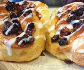 Cinnamon and Cranberry Buns