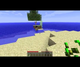 Minecraft: Survival Island Map and Gameplay.