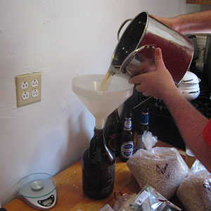Picture of Make the Starter Wort