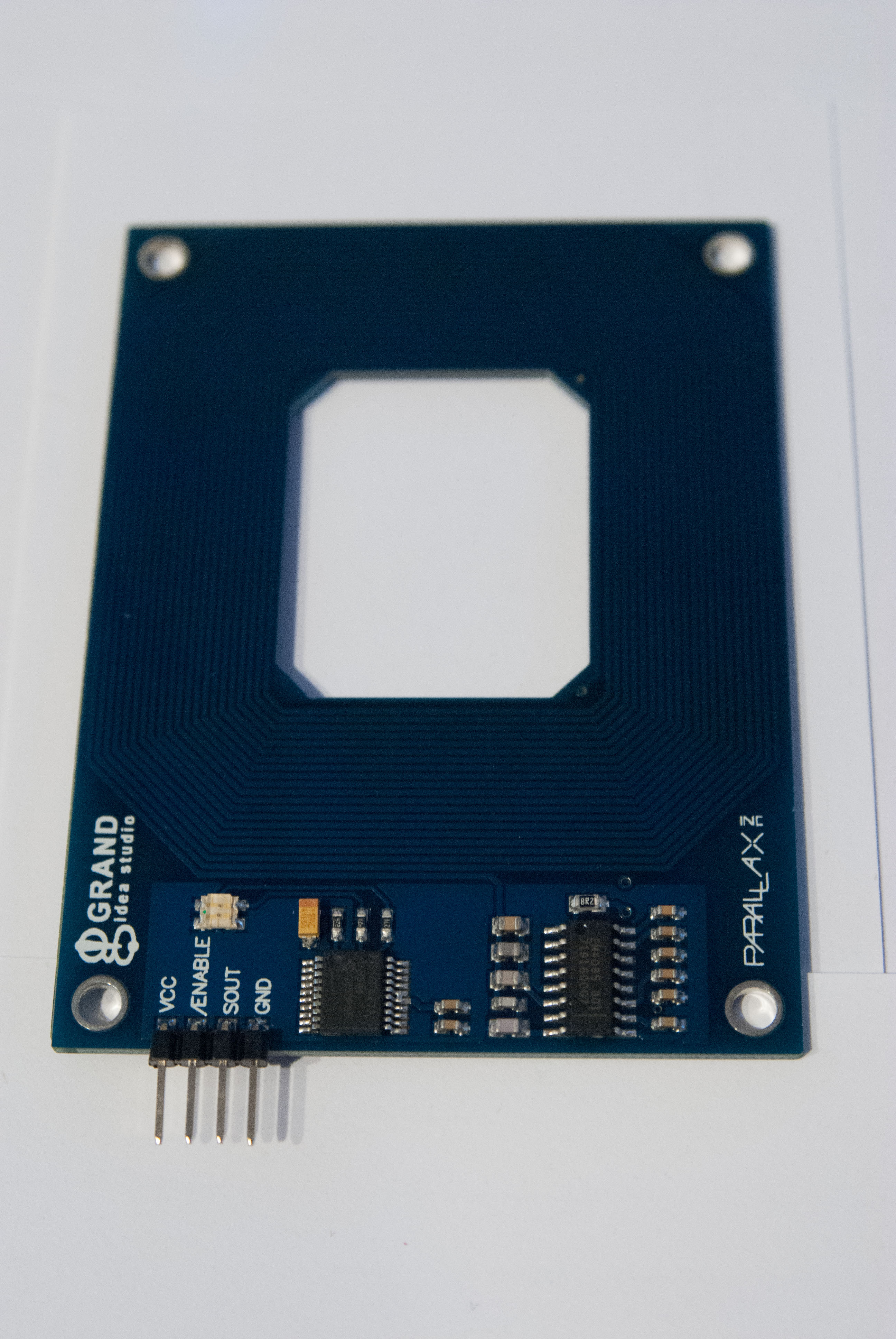 Picture of Wiring and Programming the Parallax RFID Serial Card Reader for the Arduino