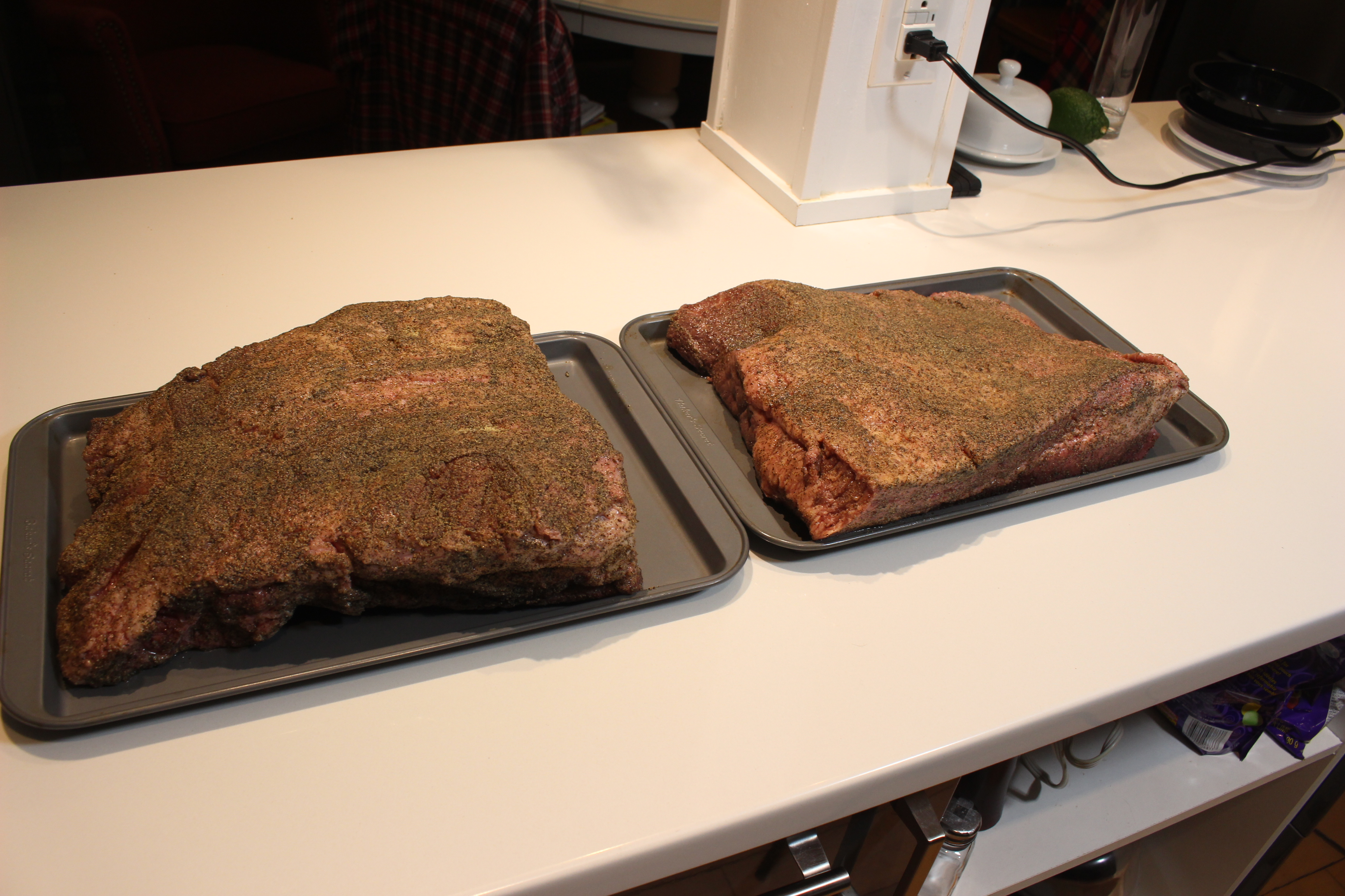 Picture of Trimming and Preparing the Brisket