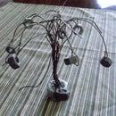 """Wire Tree """"Rusty Fruit"""""""
