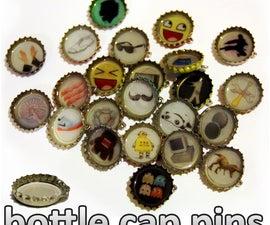 bottle cap pins