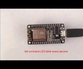 NodeMCU Basic Project-Blink a LED