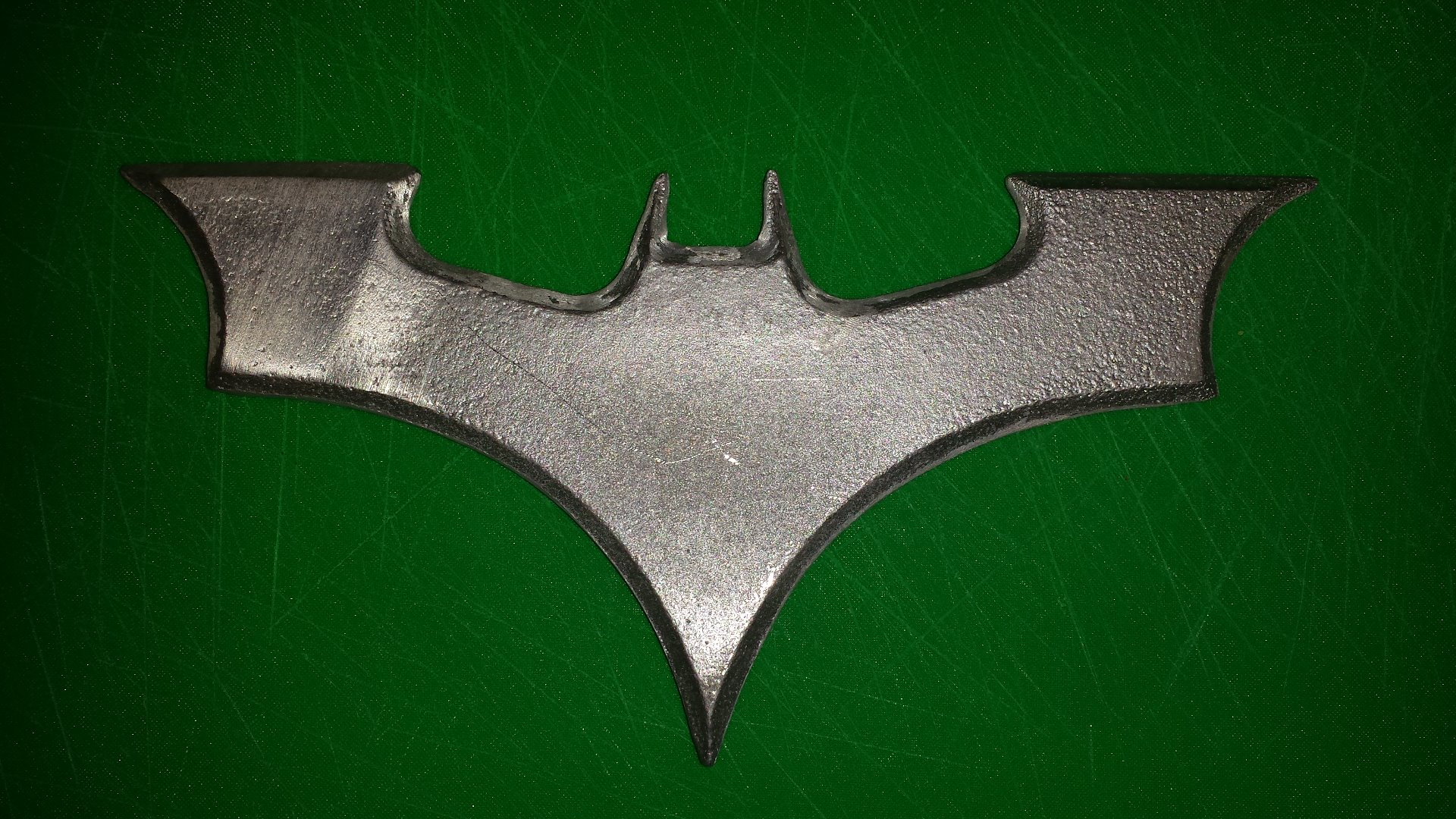 Picture of Finished Batarang