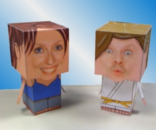 Very Personal Papercrafts From a Photo