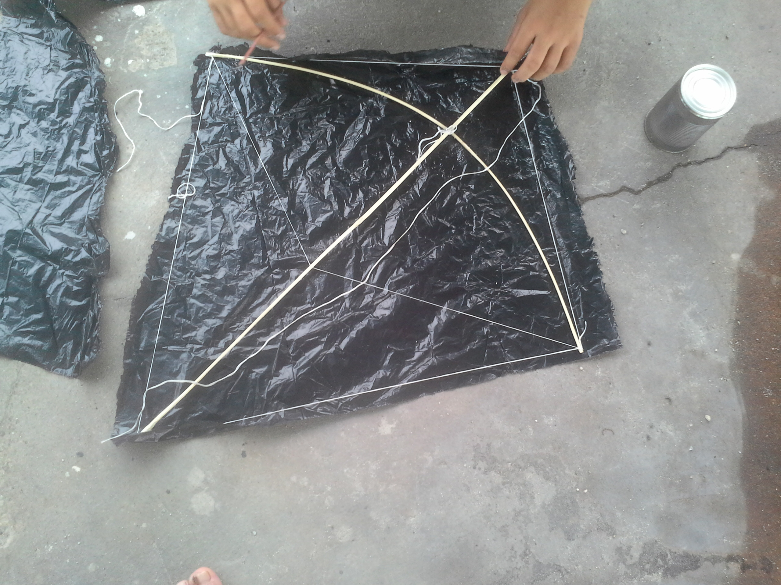 Picture of Bamboo Traditional Kite(plastic Welding)