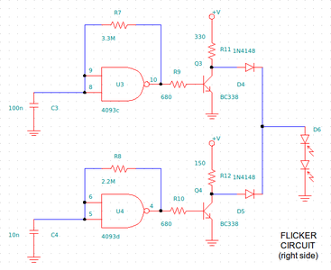 Flickering System (electronic Circuit)