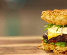 How to Make a Ramen Burger
