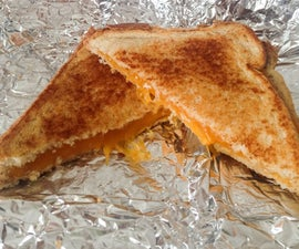 How to Make a Grilled Cheese Sandwich With an Iron