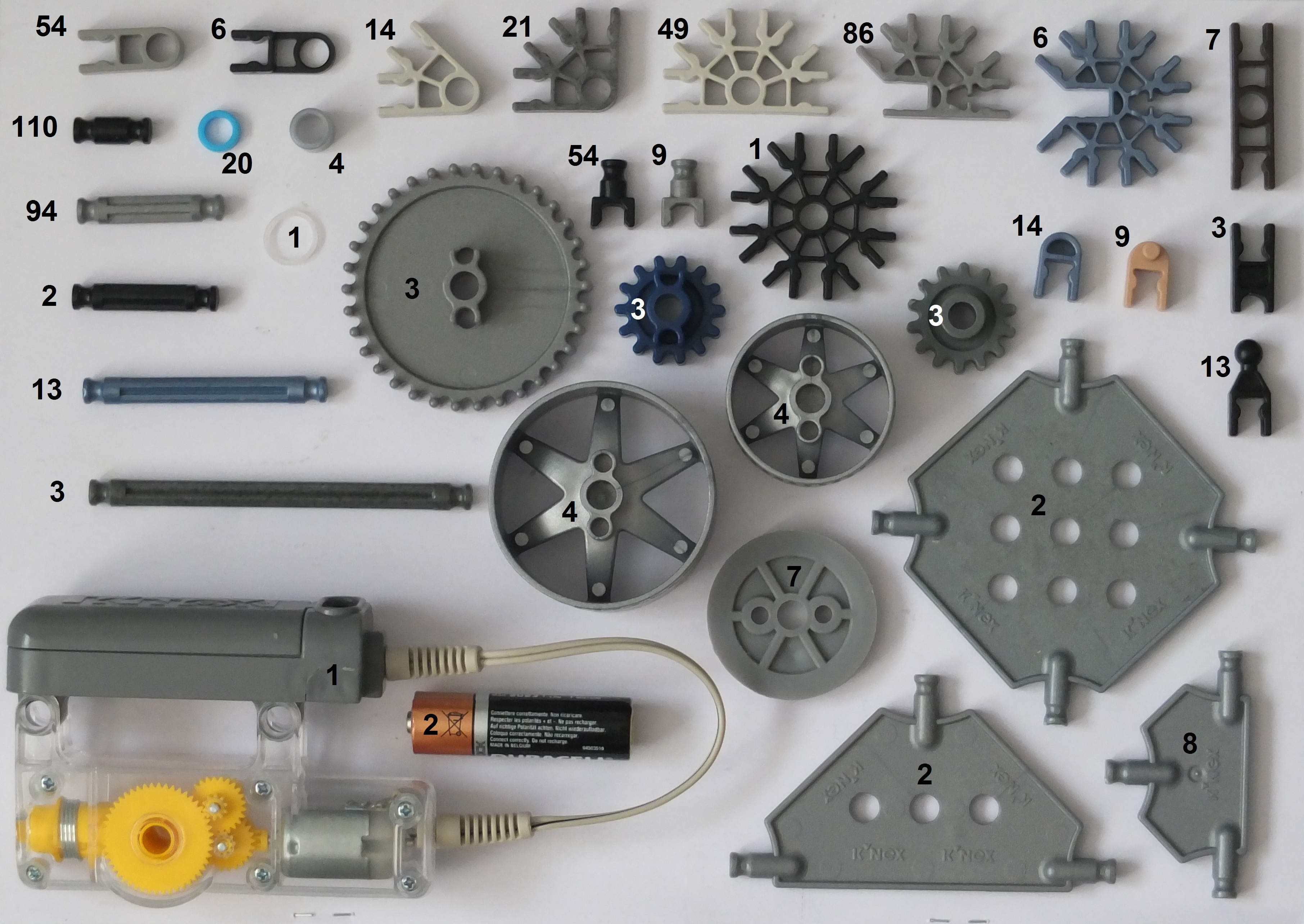 Picture of Parts Needed