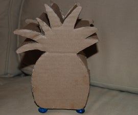 How To Make Your Own Pineapple Piggy Bank!!!