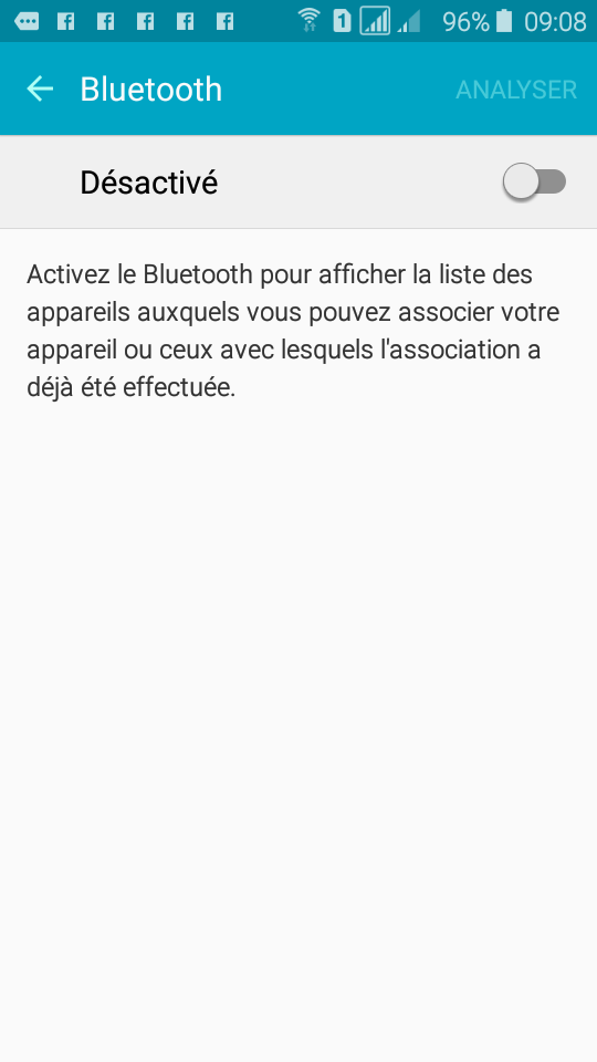 Picture of Activation Bluetooth