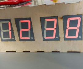 Arduino Real Time Clock with large 7-segment Displays