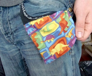 Sew New Pockets in Jeans