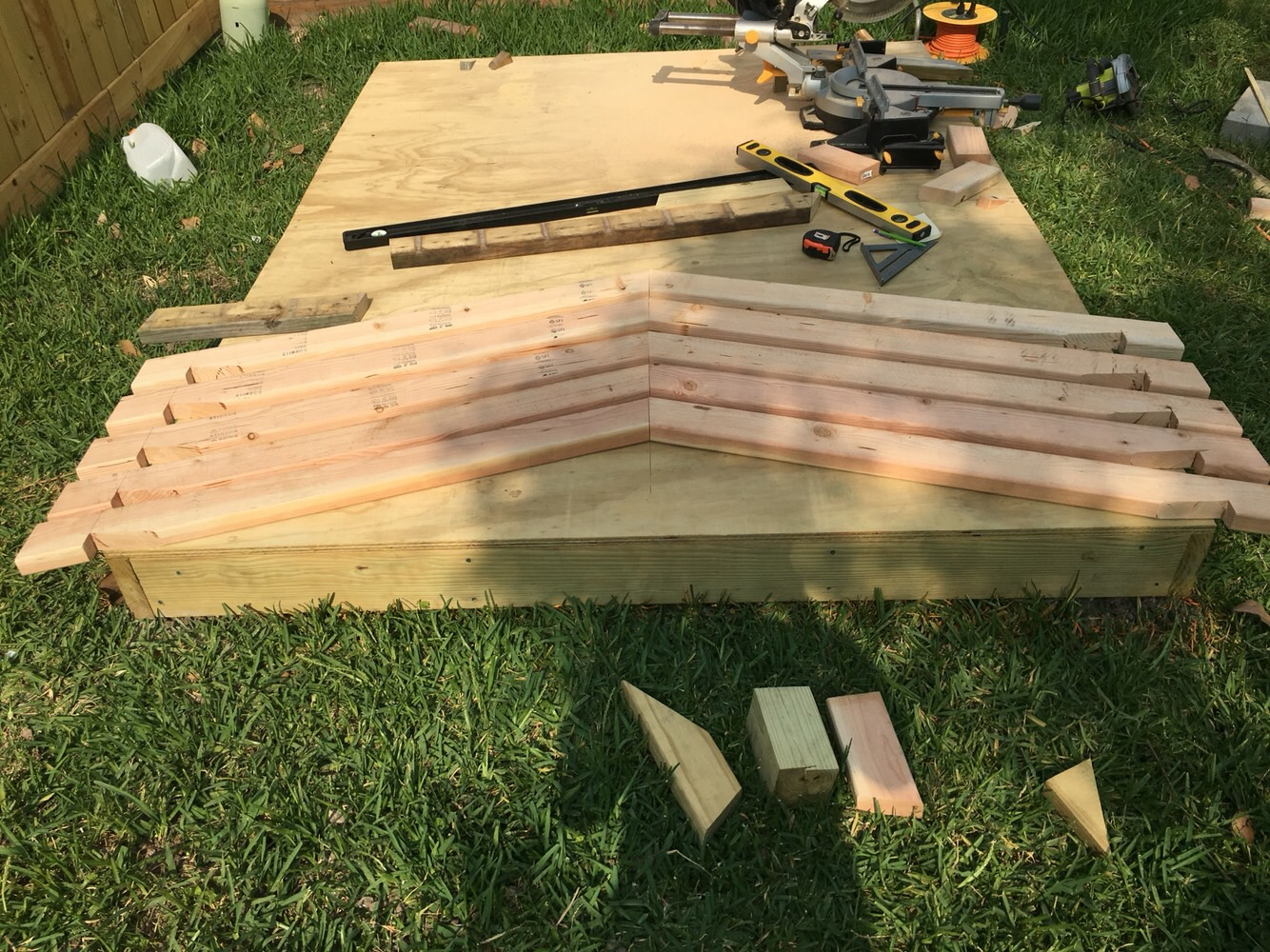 Picture of Build Roof Trusses