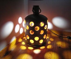 Gas Bottle Lamp