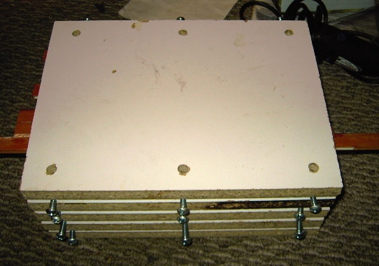 Picture of Small Panel Gluing Jig for $25