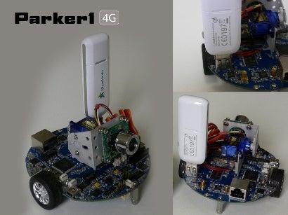 Parker1 WiFi / 4G Mobile Robot