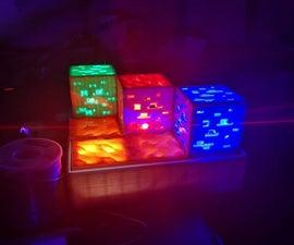 Minecraft Inspired Brick Night Light