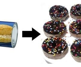 Easy Bready Biscuit Donuts!
