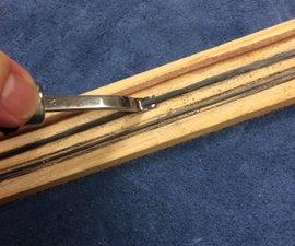 DIY Leather Edge Beveler Strop