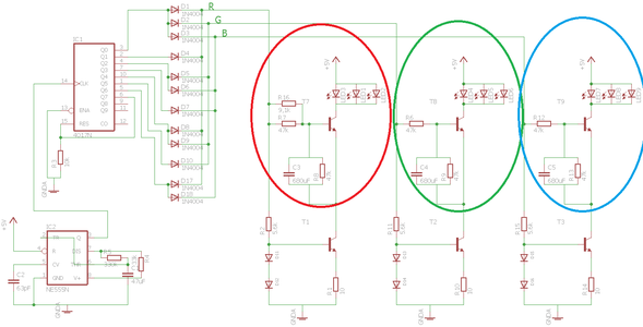 Circuit for Fading LEDs