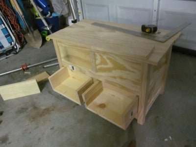 Making the Front Drawers