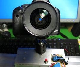 Arduino+Stepper Motor Camera Slider