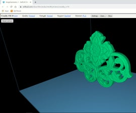 SelfCAD 3D Image Into 3d Model