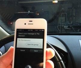 iPhone Garage Door Opener (Updated!)