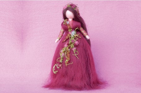 How to Make a Magic Wool Autumn Fairy