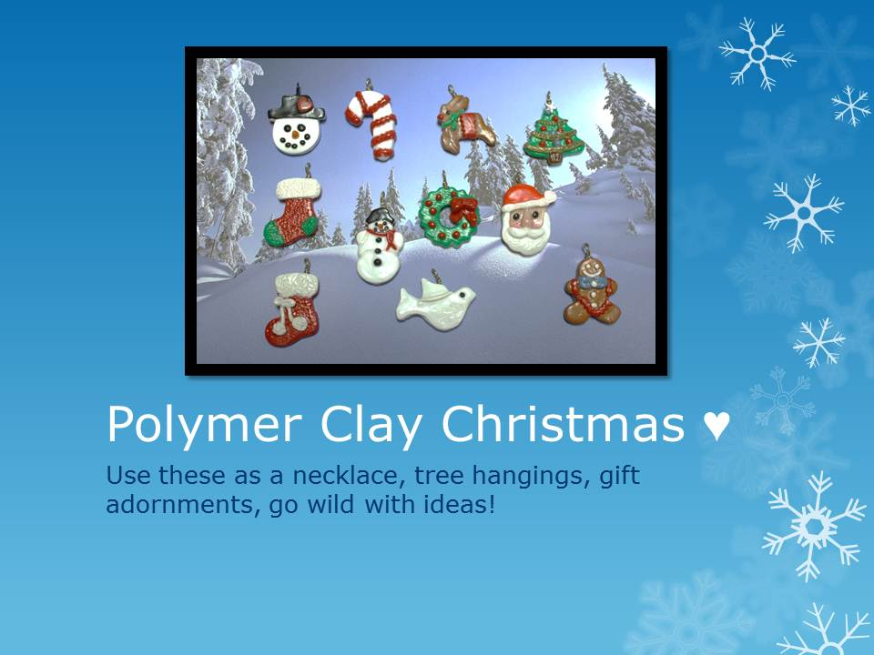 Picture of Polymer Christmas Characters