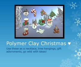 Polymer Christmas Characters