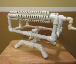 PVC BASE for Rubber Band Machine Gun