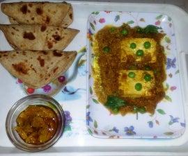 Punjabi Style Matar Paneer