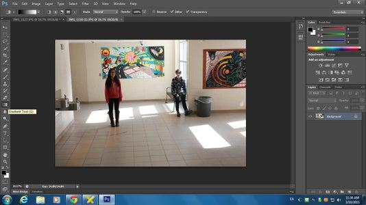 Editing the Photo