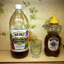 Apple Cider Vinegar Sore Throat Rinse