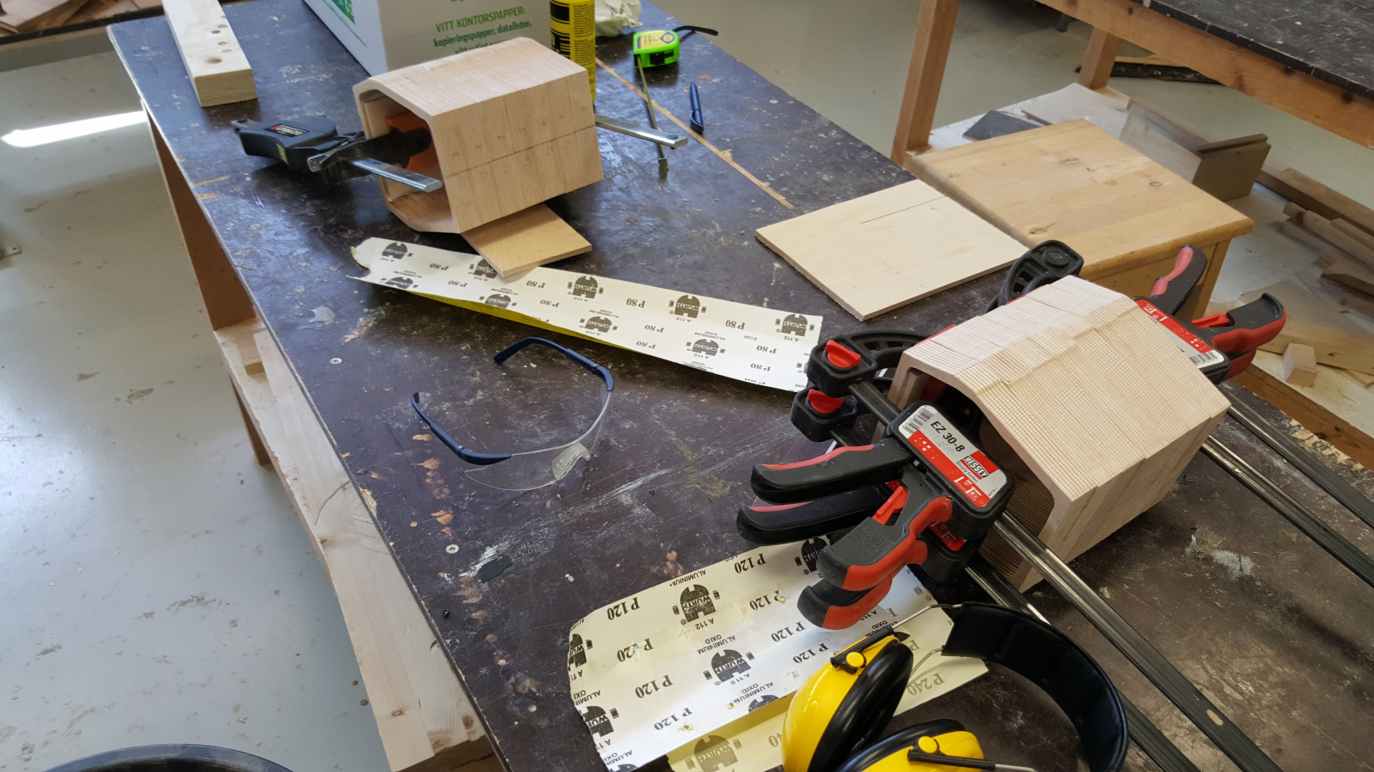 Picture of Cutting the Pieces and Gluing