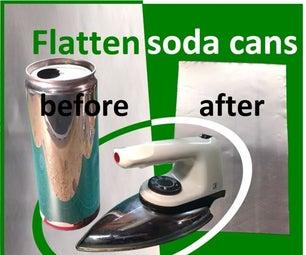 Flatten Soda Cans