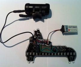 Adding Wireless Control to Monkey Light M232