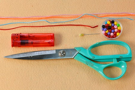 Materials Needed for the Butterfly Friendship Bracelet: