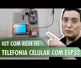 IOT With Cellular Network With ESP32