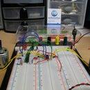 Dual Motor Driver with Arduino using a SN754410NE Quad Half H-Bridge